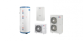 Heat pumps for heating and hot water en / Heatpumps for heating